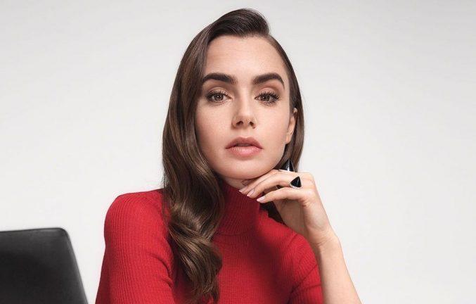 3 повседневных макияжа Лили Коллинз