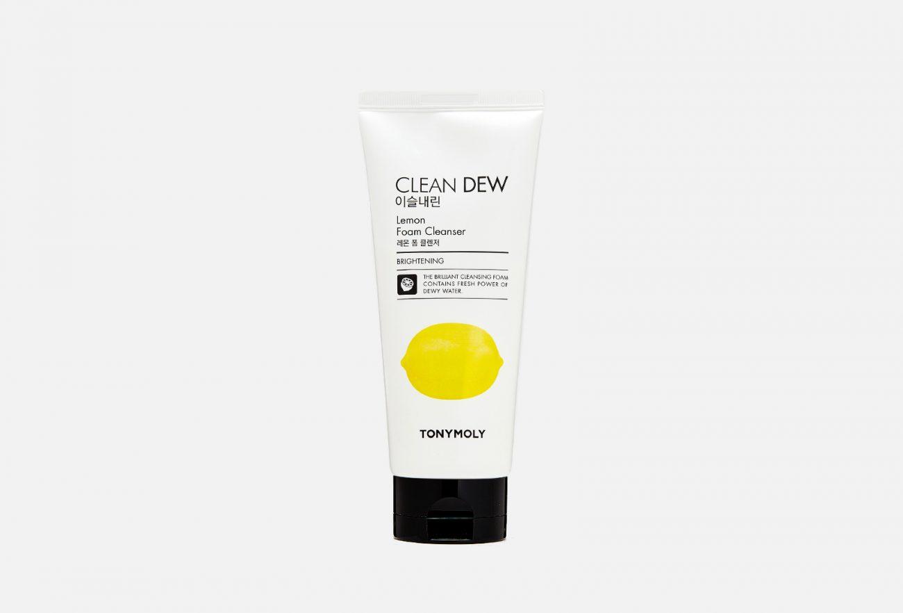Пенка для умывания Clean Dew Lemon Foam Cleanser