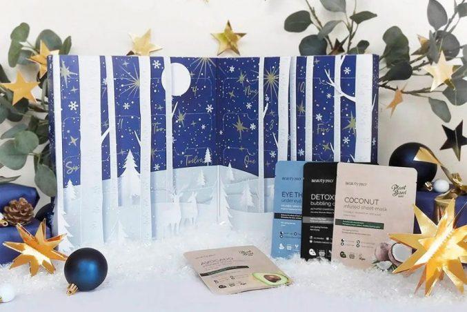 BeautyPro 12 Days of Christmask Advent Calendar 2021 — наполнение (уже в продаже)