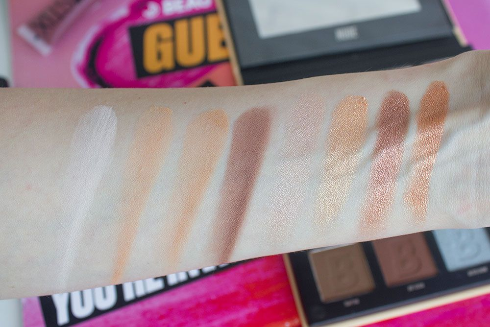 By BEAUTY BAY Nude 16 Colour Palette свотчи 1