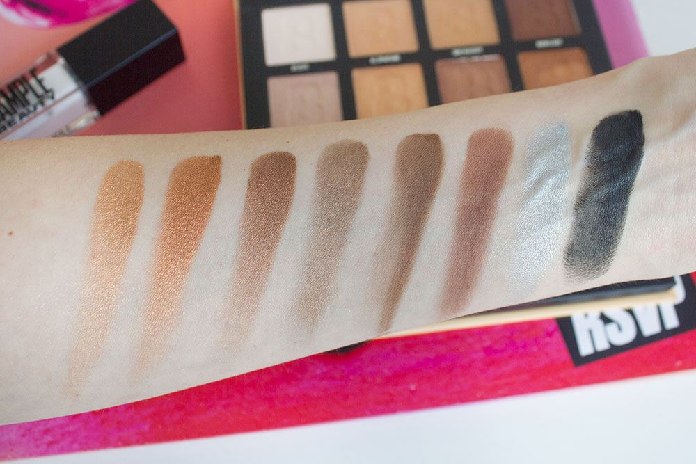 By BEAUTY BAY Nude 16 Colour Palette свотчи 2