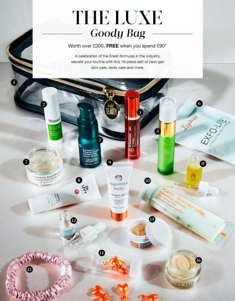 Cult Beauty The Luxе Goody Bag — наполнение и как получить