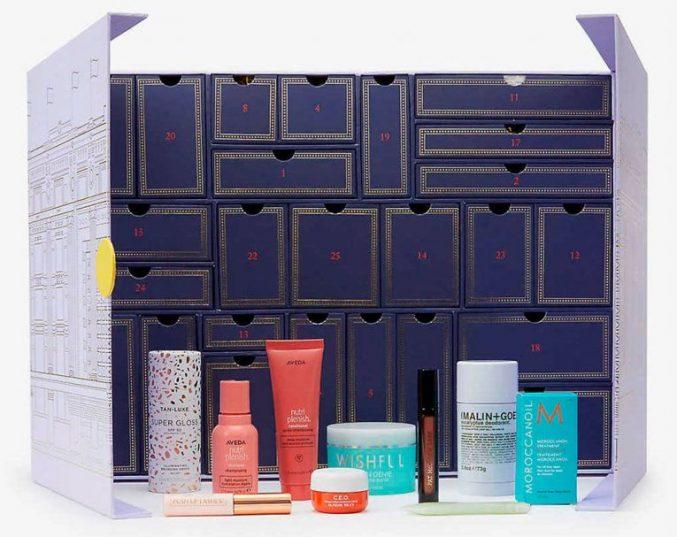 Selfridges Beauty Advent Calendar 2021 — наполнение