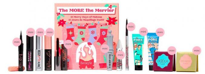 benefit The More The Merrier 12 Day Beauty Advent Calendar 2021 — наполнение (старт предпродажи)