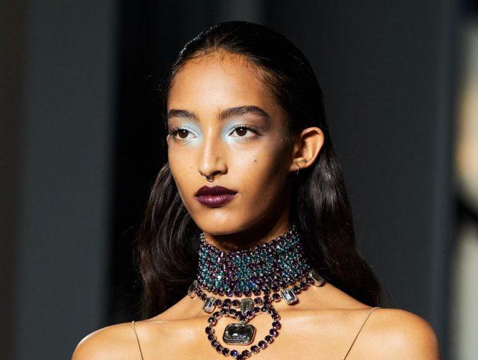 Lanvin: яркий макияж с показа