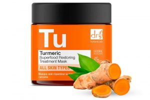 Dr Botanicals Turmeric Superfood Restoring Treatment Mask - Lookfantastic Beauty Box October 2021