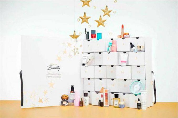 House of Fraser Beauty Christmas Advent Calendar 2021 — наполнение