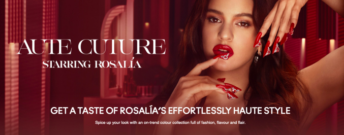 Коллекция Розалии: акцент на губы и блеск