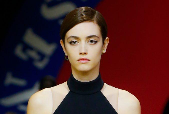 Макияж на показе новой коллекции Dior